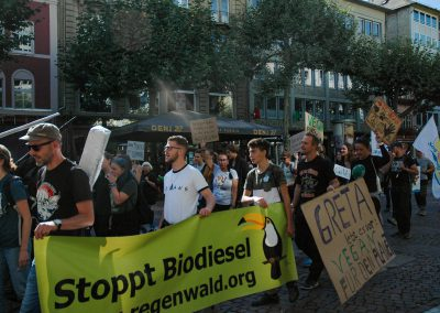 Aktionstag mit Fridays for Future