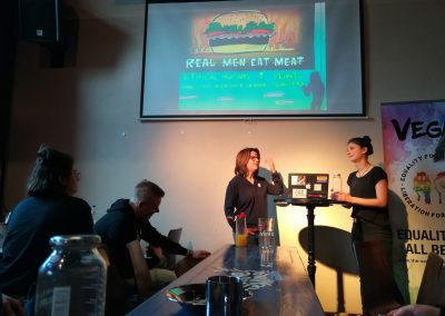 Vortrag von The Vegan Rainbow Project