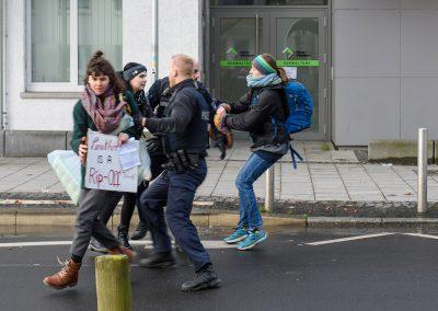 Blockade Ledermesse