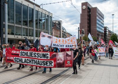 Schließung aller Schlachthäuser Frankfurt