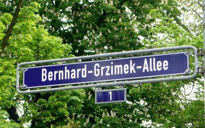 Umbenennung der Bernhard-Grzimek-Allee